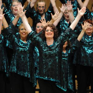 Surrey Harmony is thrilled that our MD Lorraine Turner has been awarded the status of Master Director by Sweet Adelines International. It's in recognition of our score at the recent UK Convention held at The Sage, Gateshead. Musical Directors of Sweet Adelines Choruses are permitted to be called Master Director when their Chorus scores over 600 points in competition. Our overall sixth place with 607 points means Lolly can now be known as a Master Director. We could not be more proud that she has achieved this is such a short period of time as Director. Surrey Harmony also took the silver medal in the category for Choruses with between 30 and 60 members. Once again Region 31 proved it is one of the most hotly contested Regions in the world with the top 6 Choruses scoring over 600 points. We congratulate the Champions, Lace City Chorus and our friends in Life's a Pitch quartet who will be representing the Region in Las Vegas in October, joining Forth Valley Chorus and Finesse. We wish them all every success.