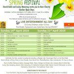 The Chalet Spring Festival flyer